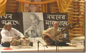 Colin Berryman and Pandit Suman
