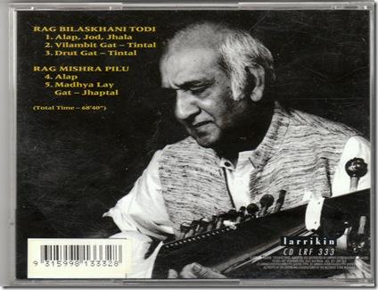 Pt Ashok Roy - Larrikin Records