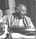 Ashokji's Guru Ustad Ali Akbar Khani
